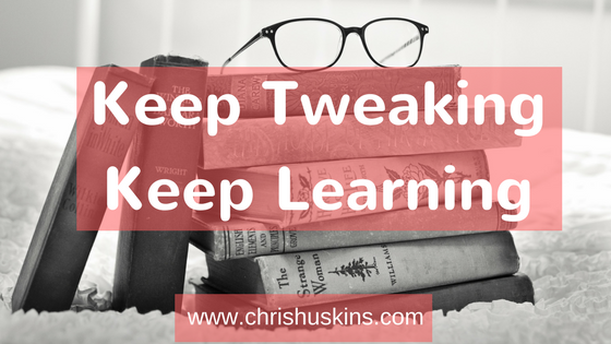 Keep Tweaking, Keep Learning To Grow Your Podcast