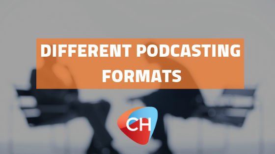 Different podcasting formats