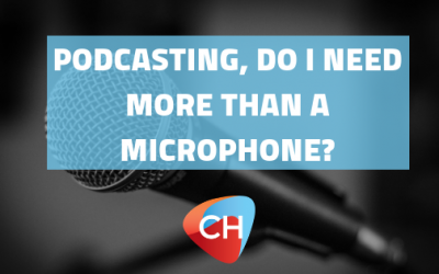 Podcasting, do I need more than a microphone?