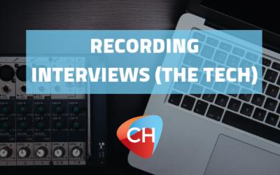 Recording interviews (The Tech)
