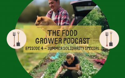 Food Grower Podcast Episode 4 – Summer Solidarity Special