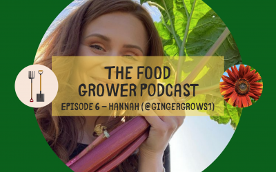 Food Grower Podcast Episode 6 – Hannah (@GingerGrows1)