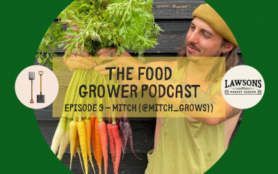 Food Grower Podcast Episode 9 – Mitch (@Mitch_Grows)