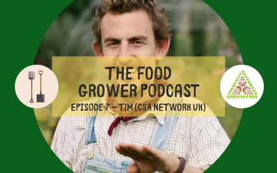 Food Grower Podcast Episode 7 – Tim Dickens (Community Supported Agriculture & Teign Greens)