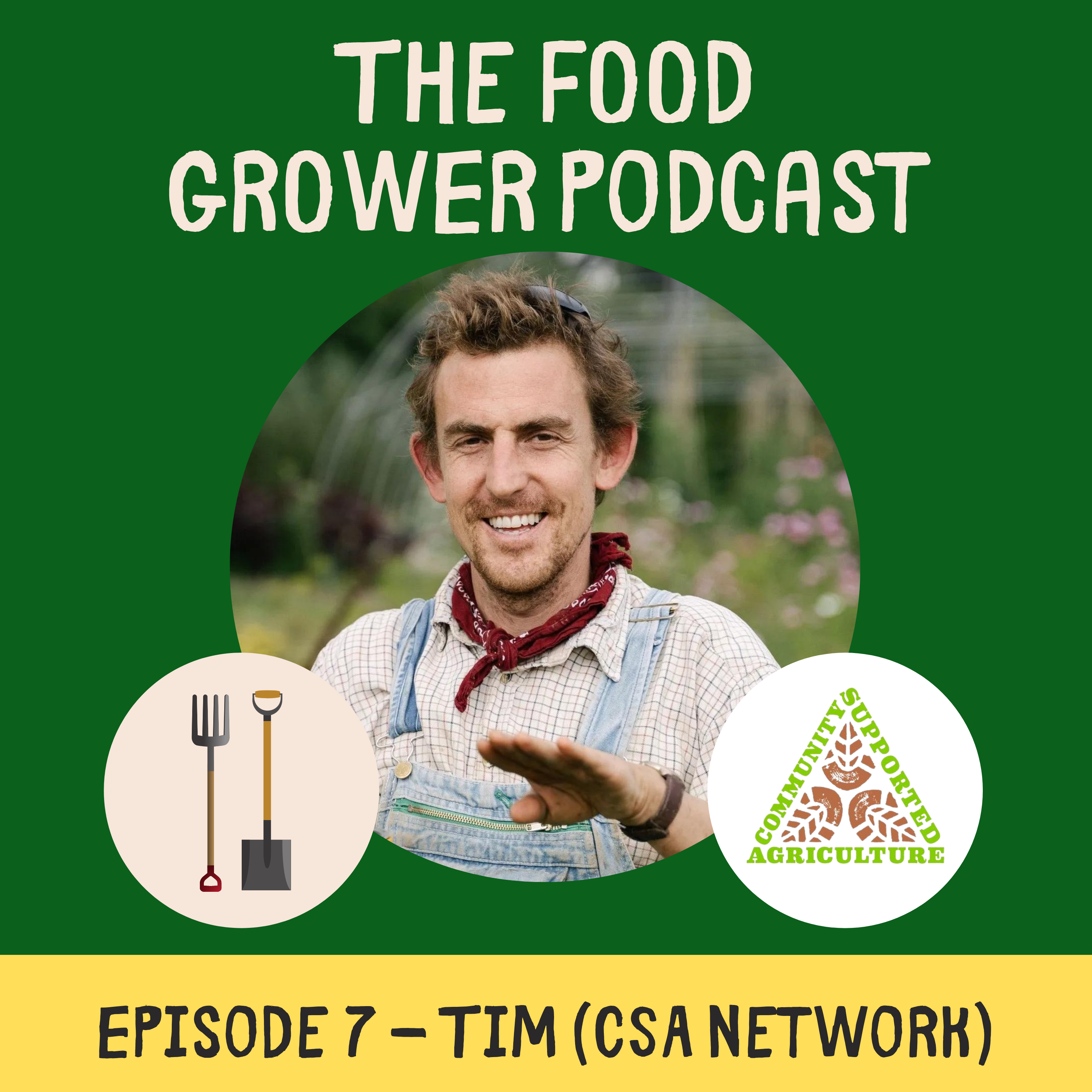 Food Grower Podcast Tim Dickens CSA