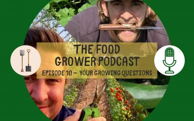 Food Grower Podcast Episode 10 – Your Growing Questions
